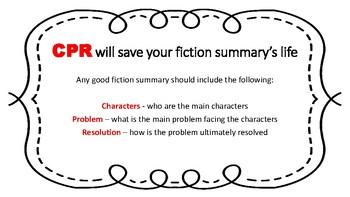 Fiction Summary Strategy