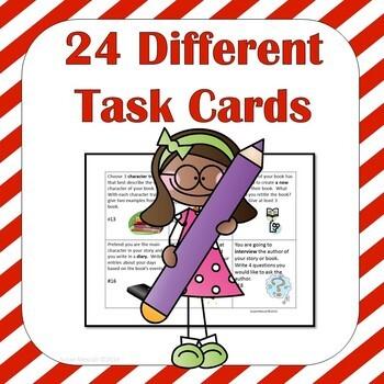 Fiction Task Card Activities