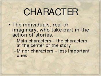 Fiction Terms