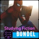 Fiction Unit Terms: Lesson, Activities, Worksheets, Handou