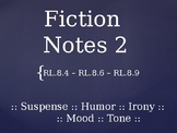 Fiction Terms PowerPoint Presentation 2
