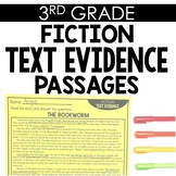 Fiction Text Evidence 3rd Grade Reading Toothy®