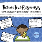 Fiction Text Responses: Graphic Organizers, Reading Respon