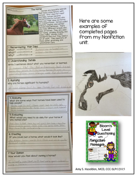 #spedChristmas2 Fiction Passages Reluctant Readers Critical Thinking Questions