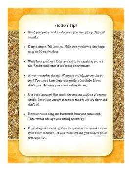 Fiction Tips