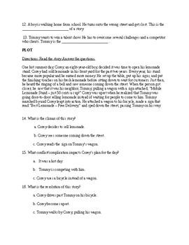Fiction Unit Assessment
