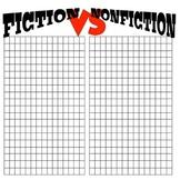 Fiction VS. Nonfiction Book Tracker
