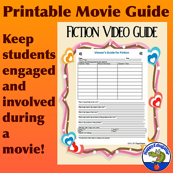 Fiction Video Guide or Movie Review Guide