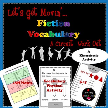 Fiction Vocabulary Circuit Workout (For Your Brain and Body)