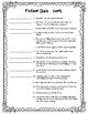 Fiction Vocabulary Quiz - pretest / posttest