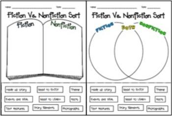Fiction Vs. Nonfiction Bundle!!