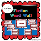Fiction Word Wall