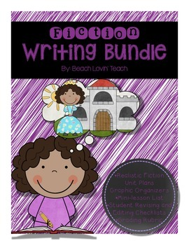 Fiction Writing Bundle-Grades 3-5
