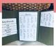 Fiction Writing Folder - Story Elements, Adjectives, Transition Words, Summary