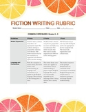 Fiction Writing Rubric