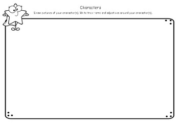 Fiction Writing Story Elements Planner