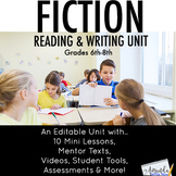 Fiction Writing Unit for Middle Schoolers