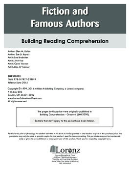 Fiction and Famous Authors