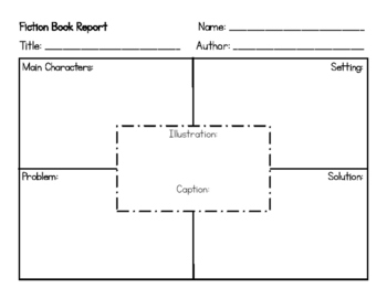 Fiction and Non-Fiction Book Reports