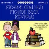 Fiction and Non Fiction Book Review Bundle