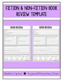 Fiction and Non-Fiction Book Review Template
