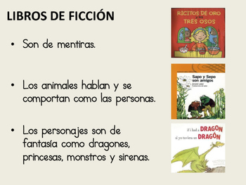 Fiction and Non-Fiction Books in Spanish