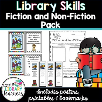 Library Skills- Fiction and Non Fiction Pack