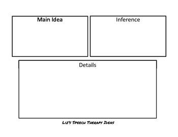 Fiction and Non-Fiction Paragraph Comprehension Main Idea and Details