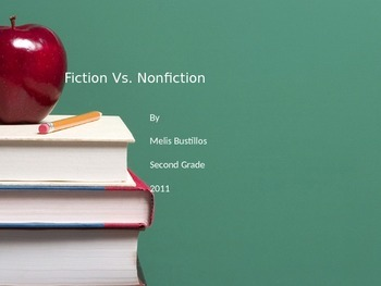 Fiction and Non-Fiction Power Point