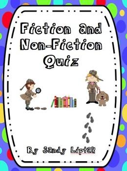 Fiction and Non-Fiction Quiz