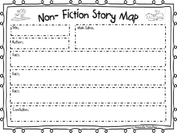 Fiction and Non-Fiction Story Element Maps