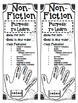 Fiction and Non-Fiction Story Elements