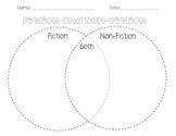 Fiction and Non-Fiction Venn Diagram