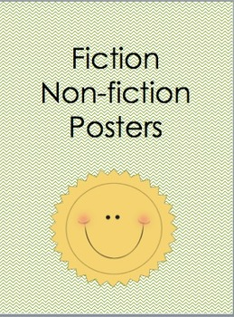 Fiction and Non-fiction Posters