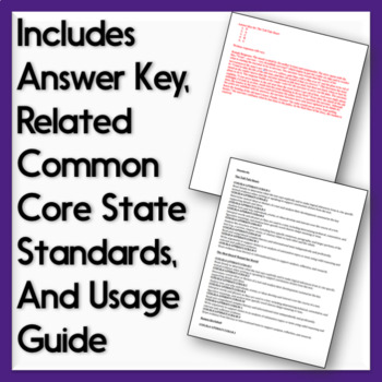 Fiction and Nonfiction Test Passages: Practice Assessments