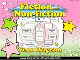 Fiction and Non-fiction Venn Diagram #1 - Compare Contrast - King Virtue