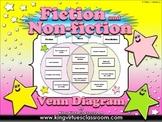 Fiction and Non-fiction Venn Diagram #3 - Compare Contrast - King Virtue