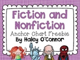 Fiction and Nonfiction Anchor Charts
