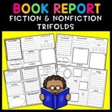 Fiction and Nonfiction Book Report Trifold BUNDLE!