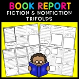 Fiction and Nonfiction Book Report Trifold BUNDLE!