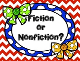 Fiction and Nonfiction Book Sort