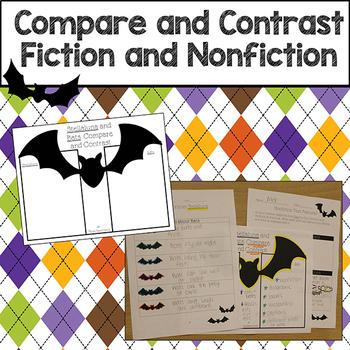Fiction and Nonfiction Comparison with Stellaluna and Bats Common Core Aligned
