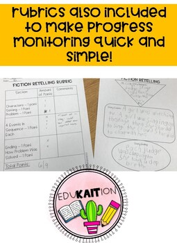 Fiction and Nonfiction Comprehension Graphic Organizers