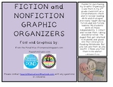 Fiction and Nonfiction Graphic Organizers