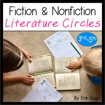 Fiction and Nonfiction Literature Circles Grades 3-5