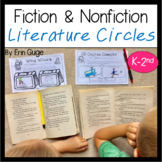 Fiction and Nonfiction Literature Circles Grades K-2
