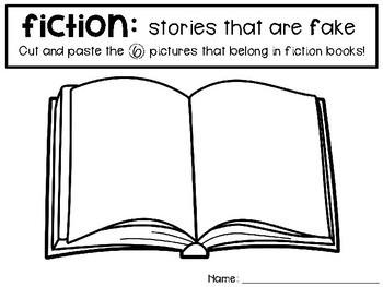 Fiction and Nonfiction Picture Sort