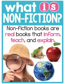 Fiction and Nonfiction Posters - The Complete Set