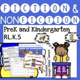 Fiction and Nonfiction - PreK and Kindergarten