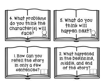 Fiction and Nonfiction Question Cards